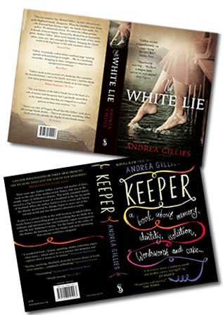 The White Lie and Keeper Book Covers