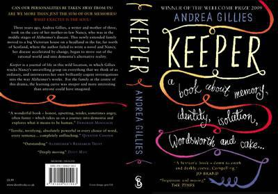 Keeper Book Cover